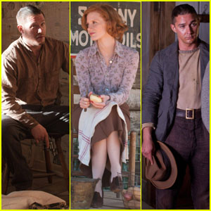 Tom Hardy & Jessica Chastain: New 'Lawless' Stills!