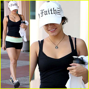 Vanessa Hudgens: Thursday Workout Woman!