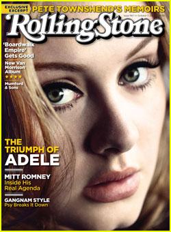 Adele Covers 'Rolling Stone' Magazine!