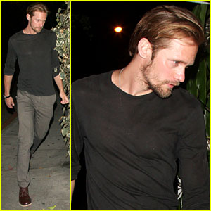 Alexander Skarsgard: Chateau Marmont Man!