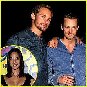 Olivia Munn & Alexander Skarsgard: Just Friends!
