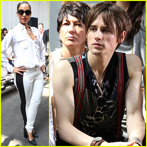 Alicia Keys & Reeve Carney: Edun Show at NYFW!