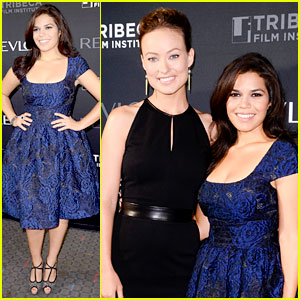 America Ferrera & Olivia Wilde: 'Half the Sky' Screening!