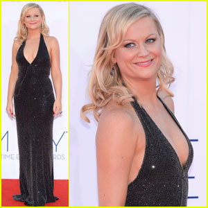 Amy Poehler - Emmys 2012 Red Carpet