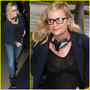 Amy Poehler: First Post Divorce Announcement Pictures!