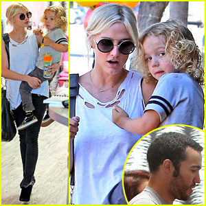 Ashlee Simpson & Pete Wentz: Haircut for Bronx!