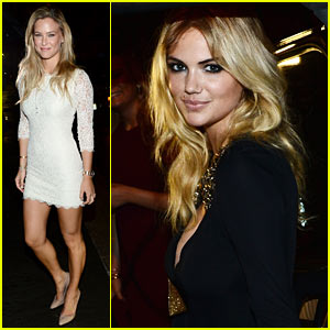 Bar Refaeli: CR Fashion Magazine Launch with Kate Upton!