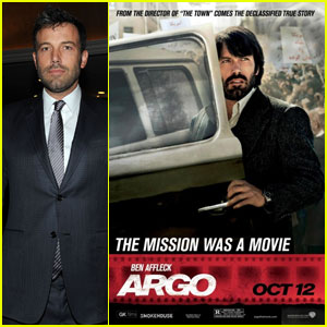 Ben Affleck: New 'Argo' Poster!