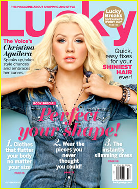 Christina Aguilera Covers 'Lucky' October 2012