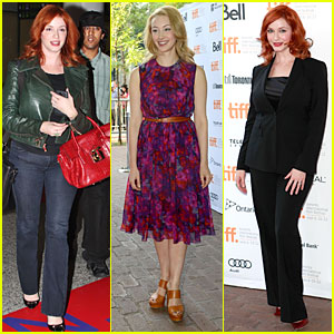 Christina Hendricks: 'American Beauty' Table Read at TIFF!