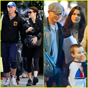 Daniel Craig & Rachel Weisz: Big Apple Dinner with Henry!