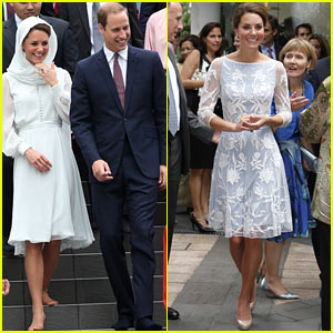 Prince William & Duchess Kate: Assyakirin Mosque Visit