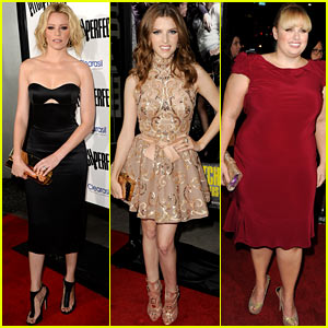 Elizabeth Banks & Anna Kendrick: 'Pitch Perfect' Premiere!