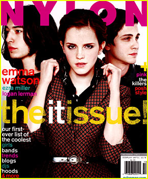 Emma Watson Covers 'Nylon' Magazine October 2012