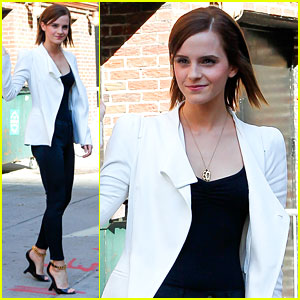 Emma Watson: 'Late Show with David Letterman' Guest!