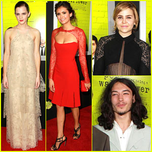 Emma Watson: 'Perks of Being a Wallflower' Premiere!