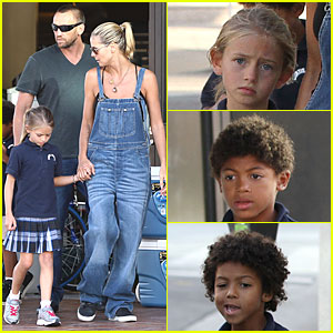 Heidi Klum & Martin Kirsten: Big Five Sporting Goods with the Kids!