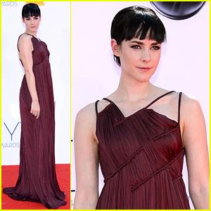 Jena Malone - Emmys 2012 Red Carpet