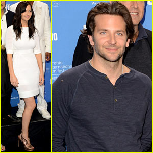 Jennifer Lawrence & Bradley Cooper: 'Silver Linings' Photo Call at TIFF!