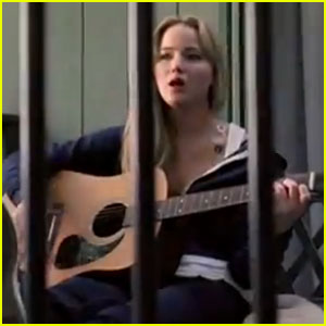 Jennifer Lawrence Lip-Syncs in 'House At The End of the Street' Music Video