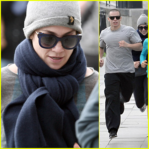 Jennifer Lopez &#038; Casper Smart: Gdansk Old Town Morning Jog!