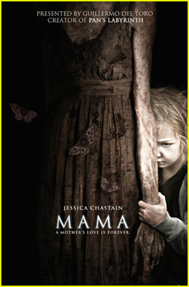 Jessica Chastain: 'Mama' Poster & Trailer - Watch Now!