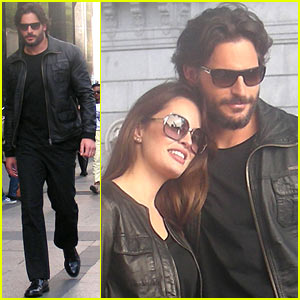 Joe Manganiello: Madrid Shoot with Caroline Correa!