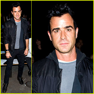 Justin Theroux: Alexander Wang Fashion Show!