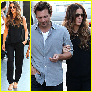 Kate Beckinsale & Len Wiseman: 'Book Of Mormon' Date!