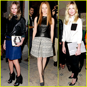 Kate Bosworth & Jessica Chastain: Proenza Schouler Show!