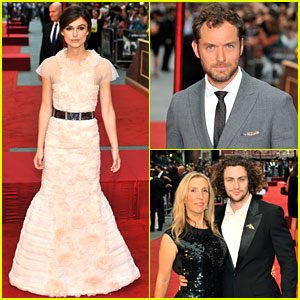 Keira Knightley &#038; Jude Law: 'Anna Karenina' Premiere!