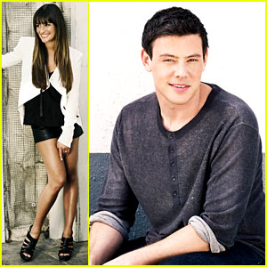 Lea Michele & Cory Monteith: Glee's Faces of Fox Campaign!