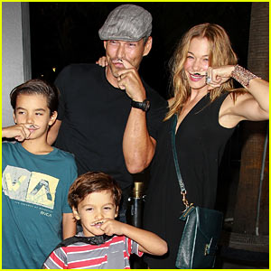 LeAnn Rimes: 'Batman Live' Premiere with the Family!
