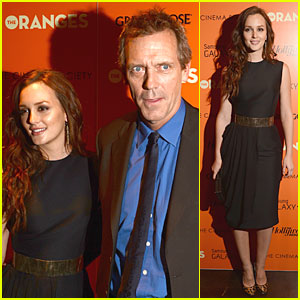 Leighton Meester: 'Oranges' Screening In New York!