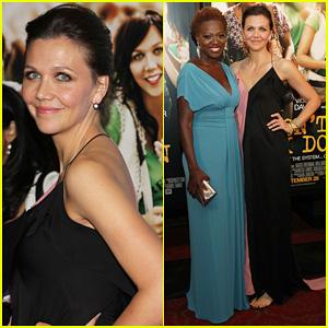 Maggie Gyllenhaal & Viola Davis: 'Won't Back Down' Premiere!
