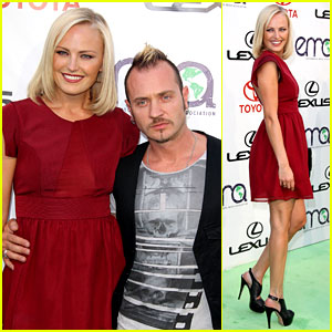 Malin Akerman Reveals Tiny Baby Bump at EMAs