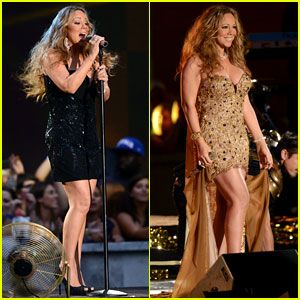Mariah Carey: 'Triumphant' at the NFL Kick-Off Concert!