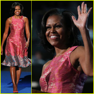 Watch Michelle Obama's Speech at Democratic National Convention!
