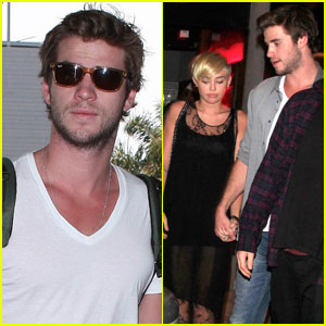 Liam Hemsworth & Miley Cyrus: Mercato di Vetro Date Night!
