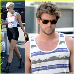 Miley Cyrus & Liam Hemsworth: Whole Foods Couple