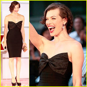 Milla Jovovich: 'Resident Evil: Retribution' Japan Premiere!