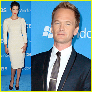 Neil Patrick Harris & Cobie Smulders: CBS Fall Premiere Party!