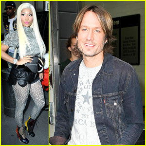 Nicki Minaj & Keith Urban: 'American Idol' Judging Day Two!