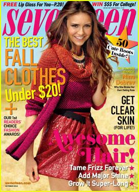 Nina Dobrev Covers 'Seventeen' Magazine