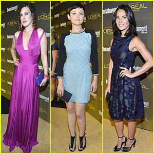 Olivia Munn & Ginnifer Goodwin: EW Pre-Emmy Party!