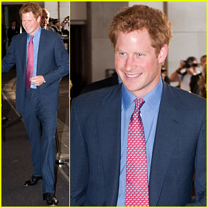 Prince Harry: First Post Nude Pictures Scandal Appearance!