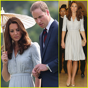 Prince William & Duchess Kate: Kranji War Cemetery
