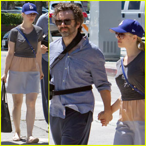 Rachel McAdams & Michael Sheen: Farmer's Market Duo