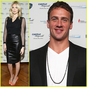 Ryan Lochte &#038; Kate Upton: Charity Day 2012!