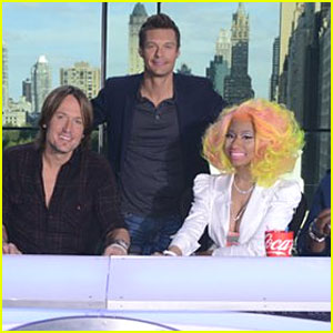 Nicki Minaj & Keith Urban: First Official Photo of New 'American Idol' Judges!